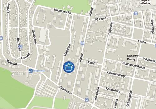 Mapa dojazdowa do Kserotech